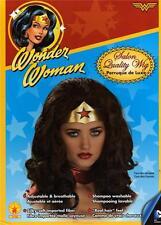WONDER WOMAN DC Comics Superheroine Womens HAIR WIG COSTUME HEADWEAR Accessory
