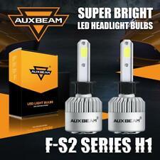 AUXBEAM H1 6000K Bright White 8000LM LED Headlight Bulb Power Kit High/Low Beam