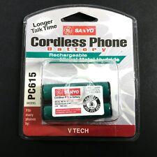 NEW Sanyo/GE GES-PC615 Cordless Phone Battery V Tech VT2420 VT2431 VT2481