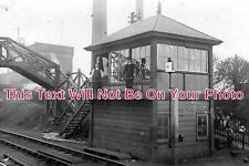 DR 725 - Langwith Colliery Sidings, Signal Box, Derbyshire - 6x4 Photo