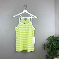 NEW Lord & Taylor C&C California Green High Neck Striped Top Size Small NWT