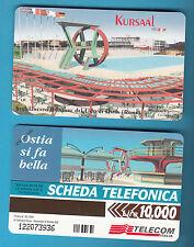 SCHEDA TELECOM NUOVA LIRE 10.000 KURSAAL GOLDEN 620 LIDO DI OSTIA SC. 30.06.99