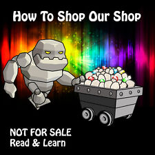 How To Shop Our Shop - Not For Sale - Read & Learn - Rock Mineral Healing