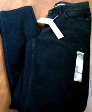 CK Black women jeans distressed Calvin Klein 32 size 8 CK Straight Fit $89 NWT