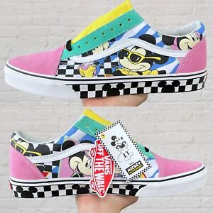 New Van's Old Skool 90th Anniversary Mickey Mouse shoes size 12
