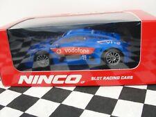 NINCO RENAULT RS  #19  BLUE 50663  1:32SLOTBNIB