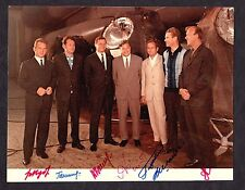 1969 SOYUZ-6/7/8 Autographs of the crew on photo VERY RARE!!!