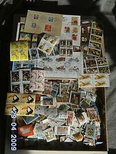 Ca 10000 Briefmarken PAPIERFREIE mit Blöcke u.Bogen BRD u.Welt.