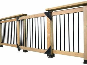 Pylex 11052 Sliding gate kit Black