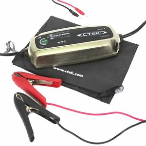 Chargeur Ctek MXS 3.8 12v 3.8A pour batterie moto auto de 1.2ah à 85ah
