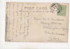 Rev MC Sanders Percy House Wellington Square Cheltenham 1907 465b