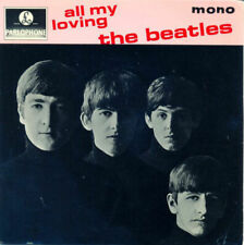 """""""7""""-The Beatles-EP All My Loving+3 PS UK DELXUE BEAUTIFUL 70'S !!"""