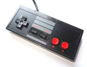 Black PC USB NES Retro Style Gamepad Joy Pad Controller UK Seller