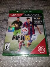FIFA 15 -- Ultimate Edition (Microsoft Xbox One, 2014) SEALED!! XBOX 1