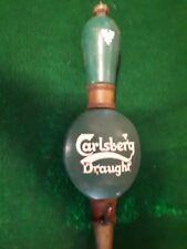 VINTAGE CARLSBERG DRAFT BEER TAP HANDLE