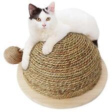 Cat Kitten Pet Claw Scratching Post Scratcher Board Semi-circular Scratch Toy UK