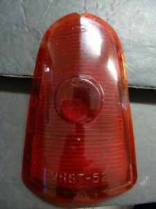 ORIGINAL 1952 1953 MERCURY MONTEREY TAIL LIGHT LENS MRST-52 FOMOCO, PLASTIC