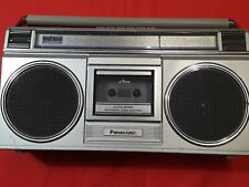 Panasonic 1980s Boombox Model No. Rx-4950 For Parts/Repair Not Working Project!