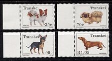Never Hinged 1993 Dogs Transkei Block10 Unmounted Mint complete.issue.