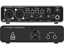BEHRINGER UMC202 HD Interfaccia audio usb 24 bit/192 khz con Preamp Midas