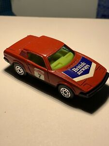 Vintage Corgi Juniors Triumph TR7 Red Rally 7 British Airways
