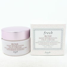 Fresh Rose Deep Hydration Mini Face Cream 0.5oz/15ml New With Box