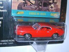 Johnny Lightning James Bond 007 1971 Mustang Fastback Red Diamonds are Forever