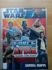 Force Attax Star Wars Sammelmappe Movie Serie 1 komplett 240 Karten  + LE4 LE5