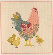 PATTERN - Hen House Pillow - fun applique PATTERN - Laundry Basket Quilts