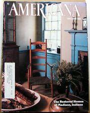 """AMERICANA"" May/June 1984 Baking in a Beehive, Restoration, Return SF Cable Car"