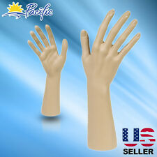 Female naked Mannequin Hand Display Jewelry Bracelet ring glove Stand holder