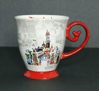 Disneyland Parks Let the Memories Begin Castle Ceramic Mug Mickey Design Handle