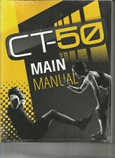 Ct-50 Main Manual (New, Unopened)-5 levels of workouts with detail descriptions