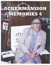 ACKERMANSION MEMORIES #4 fanzine (2017 ) Forrest J Ackerman, Amazing Stories