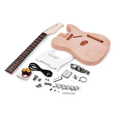 Muslady TL Style Unfinished Electric Guitar DIY Kit String Instrument Z8A3