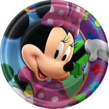 Minnie Mouse Dessert Plates Party Supplies Pack of 8