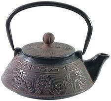 Buckingham Aztec Pattern Tetsubin Japanese Style Cast Iron Teapot 800ml