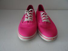 Vans Trainers Pink Size 3 UK (ladies US 5.5)