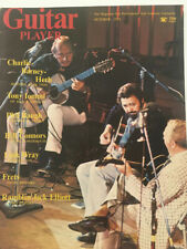 Guitar Player Magazine October 1974 Charlie-Barney-Herb Tony Iommi Link Wray