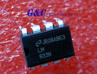 50PCS IC LM833N LM83 NSC DIP-8 Dual Low Noise Audio Op-Amp NEW GOOD QUALITY