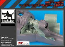 Blackdog Models 1/48 BELL UH-1 HUEY ENGINE Resin Update Set