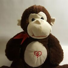 Dan Dee Collector's Choice Monkey 2012 Plush Buddy Lovey Fluffy 18 in Tall