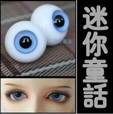 GA3 BJD Doll A Glass Eyes 14mm,16mm,18mm,20mm Clear Blue Eyes SD MSD YOSD 1 Pair
