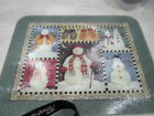 "Sakura Debbie Mumm Snowman Holiday 12"" x 16"" Counter Saver Cutting Board"