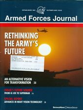 2003 Armed Forces Journal Magazine: Rethinking the Army's Future/Israel Soldiers