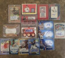 Baseball Card Lot: Game Used, Rookie, Auto, #ed, Refractor** Buy 3 Get 4th FREE!