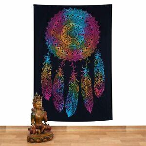 Wall Hanging Bedspread Dream Dreamcatcher Cloth India Mandala Ca 200x135cm