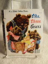 VINTAGE LITTLE GOLDEN BOOK THE THREE BEARS 1976 JJ Edition Children's Book