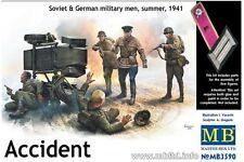 MasterBox MB3590 1/35 Accident Soviet & German military men, summer, 1941