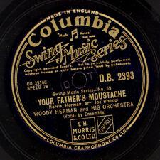 Woody Herman & His Orchestra your vizio's MOUSTACHE/BIJOU 78rpm x1222
